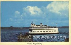 Astoria Megler Ferry, Washington, WA USA Ferry Ship Postcard