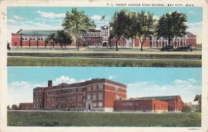 T.L.Handy Junior High School , BAY CITY , Michigan, 1910-20s