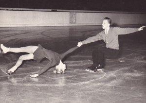 RP: Figure Skaters LJUDMILA BELOUSOVA & OLEG PROTOPOPOV (SSSR) 1950-60s