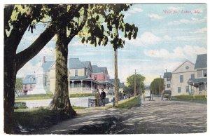 Lubec, Me, Main St.