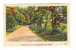 Park, Greetings From La Madera, New Mexico, 1930-1940s