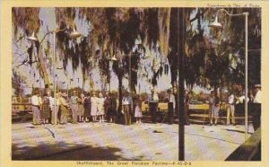 Florida Shuffleboard The Great Floridian Pastime