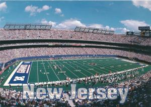 New York Giants Football Game at Meadowlands East Rutherford NJ New Jersey