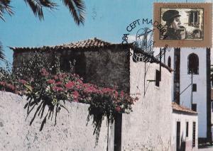 Portugal Portuguese Christopher Columbus Porto Santo First Day Cover Postcard