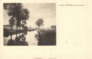 CPA St-LÉONARD - par SENLIS (131160)