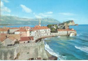 Montenegro, Budva, 1971 used Postcard