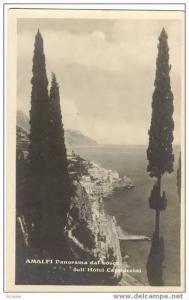 RP AMALFI, Italy, 1920-30s Panorama dal bosco dell´Hotel Cappuccini