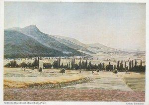 Postcard Germany Arthur Lehmann Haardt Madenburg platz