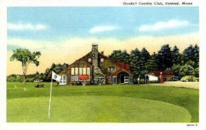 Goodall Country Club in Sanford, Maine