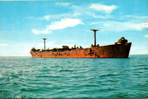 Massachusetts Cape Cod National Seashore James Longstreet Target Ship