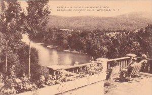 Lake Ellis From Club House Porch Berkshre Country Club Wingdale New York Artvue
