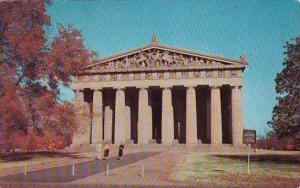 The Parthenon Centennial Park Nashville Tennessee 1958