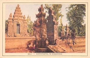 Bali Indonesia, Republik Indonesia Dorpstempel te Singaradja Bali Dorpstempel...