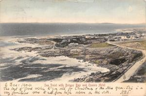 South Africa Cape Town, Sea Point with Botany Bay and Queens Hotel 1904