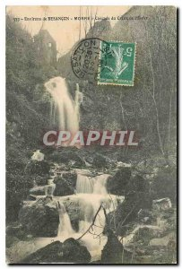 Old Postcard Around Morre Besancon Cascade Hollow to Hell