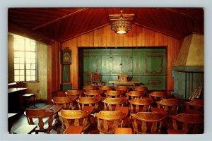 Pittsburgh PA, The Norwegian International Room, Chrome Pennsylvania Postcard