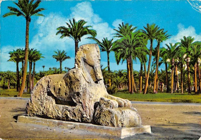 Egypt Memphis The Alabaster Sphinx