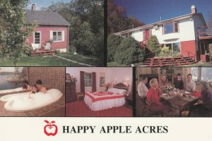 FREDERICTON , New Brunswick, 50-70s ; Happy Apple Acres