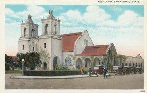 SAN ANTONIO, Texas, 10-20s; Katy Railroad Depot