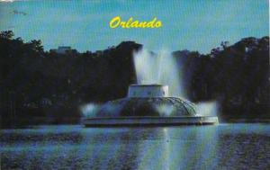 Florida Orlando Lake Eola Fountain