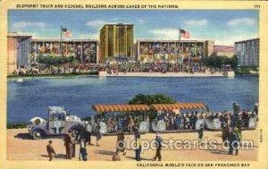 Golden Gate Exposition 1939 - 1940, World's Fair San Francisco Bay, CA 1939 p...