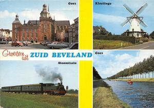 Netherlands Groeten uit Zuid Beveland Goes Kloetinge Stoomtrein Goes