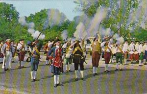 Colonal Militia Williamsburg Virginia 1973