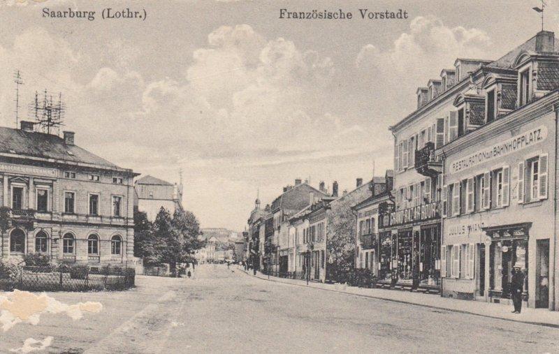 SAARBURG , Germany , 00-10s ; Franzosische Vorstadt