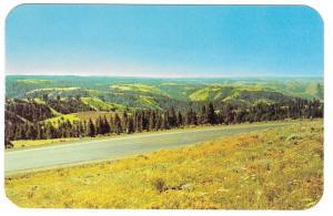 Eastern Oregon Blue Mountains Hwy 30 Deadman Pass Postcard