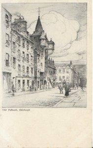Scotland Postcard - Old Tolbooth - Edinburgh - Ref 8012A