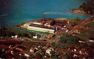 NY - Watkins Glen. Watkins Salt Co., Seneca Lake