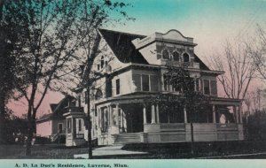 LUVERNE , Minnesota, 1900-10s , A.D. La Due's Residence