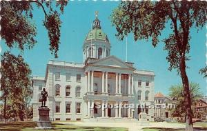 State Capitol Concord NH Unused