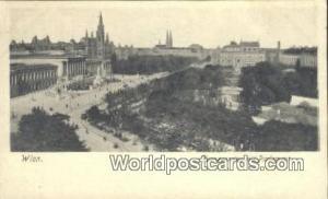 Wien, Vienna Austria, Österreich Franzensring mit Parlament  Franzensring mi...