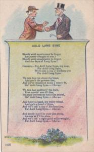 Music Song Auld Lang Syne