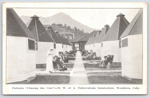 Colorado Springs~MWA Sanatorium~Nurse Visits the Huts~Patients Chase Cure~1914