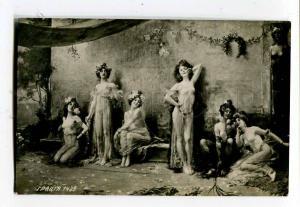 260728 Grace NUDE Slave BELLY DANCER Sale HAREM Vintage PC