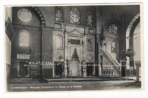 RP, Mosque Suleymanie, Le Mihrab Et Le Mimber, Constantinople, Turkey, 1920-1...
