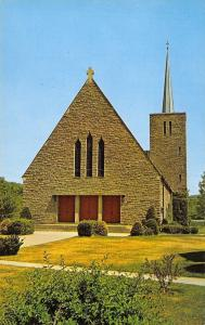 Canaan Connecticut~St Joseph's Catholic Church~1960s Postcard