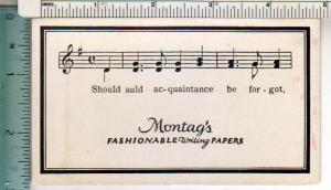 Montag's Fashionable Writting Papers