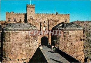 Modern Postcard Rhodes Gate of Amboise