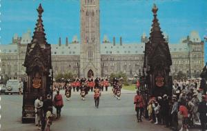 Changing of the Guard Ceremony, Parliament Hill, Ottawa, Ontario, Canada, 195...
