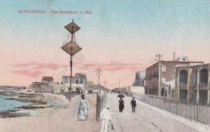 ALEXANDRIA , Egypt , 00-10s ; The Semaphore in Mex