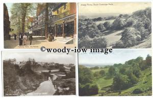 tb0140 - Kent - The Pantiles &  Happy Valley - Tunbridge Wells - 12 postcards