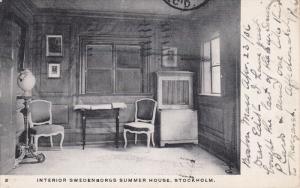 Interior Swedenborgs Summer home , STOCKHOLM , Sweden , PU-1906