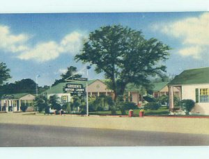 Linen MOTEL SCENE Myrtle Beach South Carolina SC AD9673@