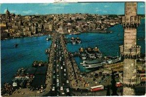 CPM AK Istanbul ve Güzellikleri - Galata Bridge TURKEY (850224)