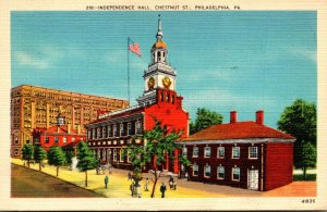 Pennsylvania Philadelphia Independence Hall 1944