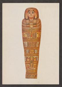 Inner Coffin Of Takhebkhenem Thebes 450 BC - The British Museum