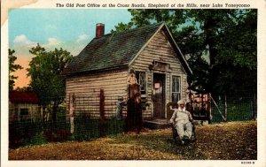 Old Post Office Cross Roads Shepherd Hills Vintage Postcard Standard View Card